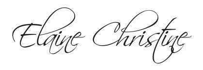 Elaine Christine signature